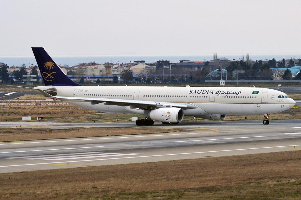 Saudia, HZ-AQ27, Airbus A330-343