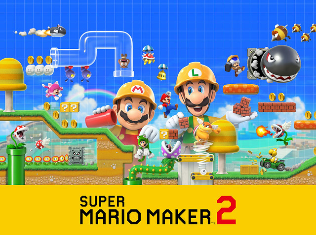 Super Mario Maker 2 Launches for Nintendo Switch on June