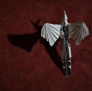 Origami Archaeopteryx - 3