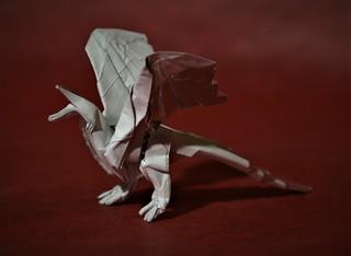 Origami Archaeopteryx - 2