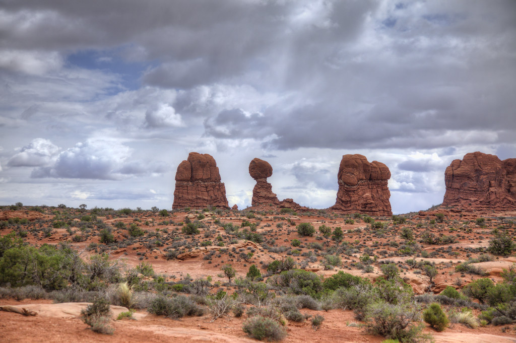 Arches National Park in South Eastern Utah 24