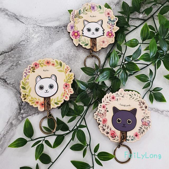 鑰匙圈 客製化 禮物 特色產品 居家 台灣設計 森林 狐狸 美式 家庭 生日 情人節 動物 療癒 聖誕節 收納