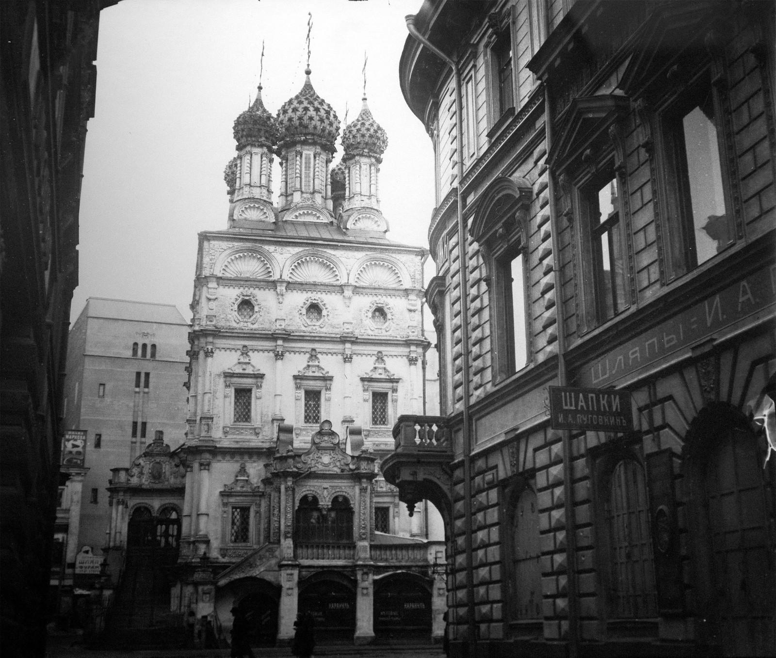 Ильинка. Церковь Николая Чудотворца Большой Крест