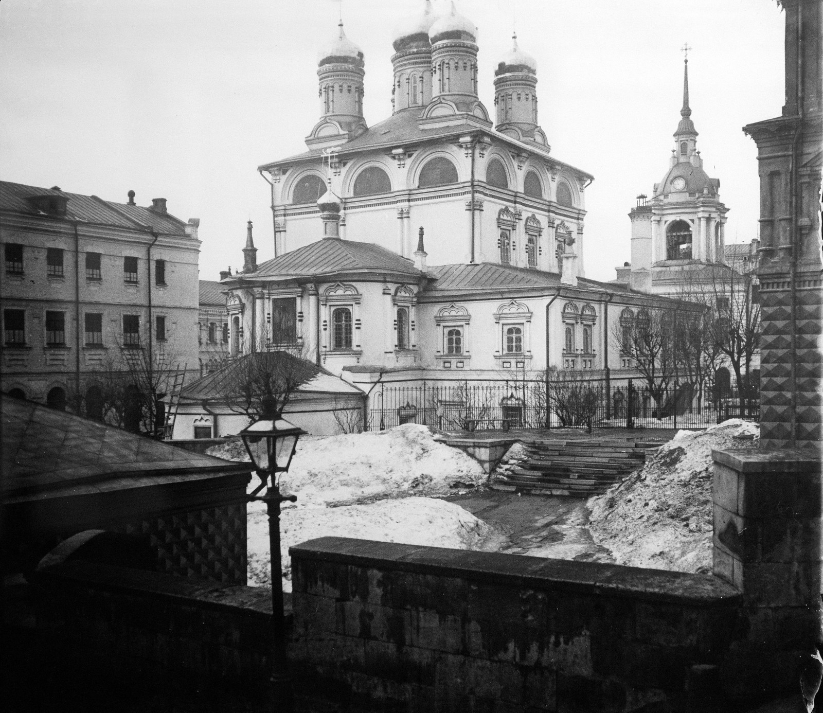 Варварка. Знаменский монастырь