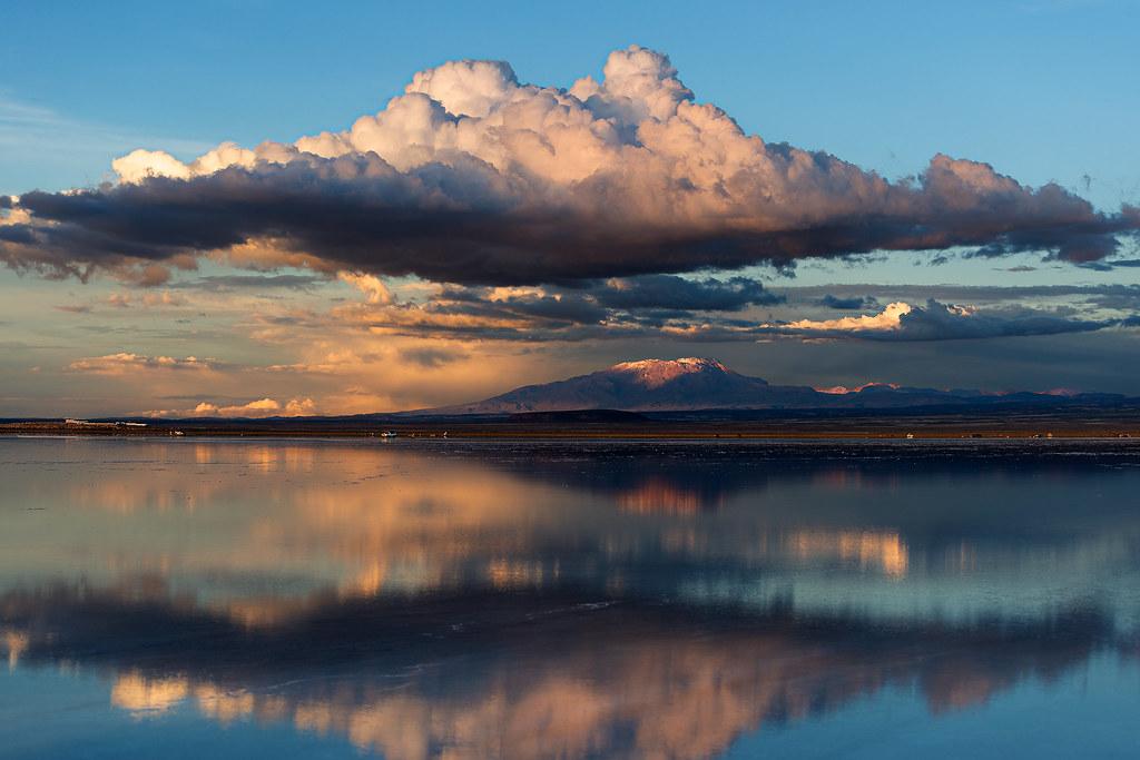 Sunset On Salar De Uyuni Nino La Corte Flickr