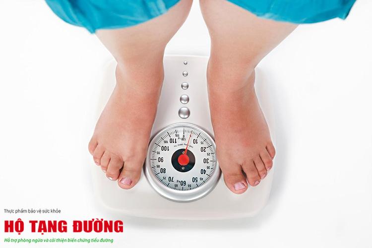 Giảm cân giúp giảm nguy cơ biến chứng.