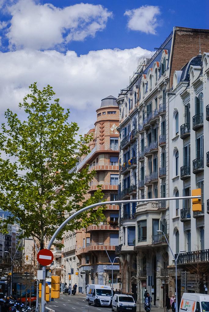 Diagonal Barcelona.