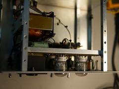 Bristol Hackspace: Inside Griffin Dekatron Counter