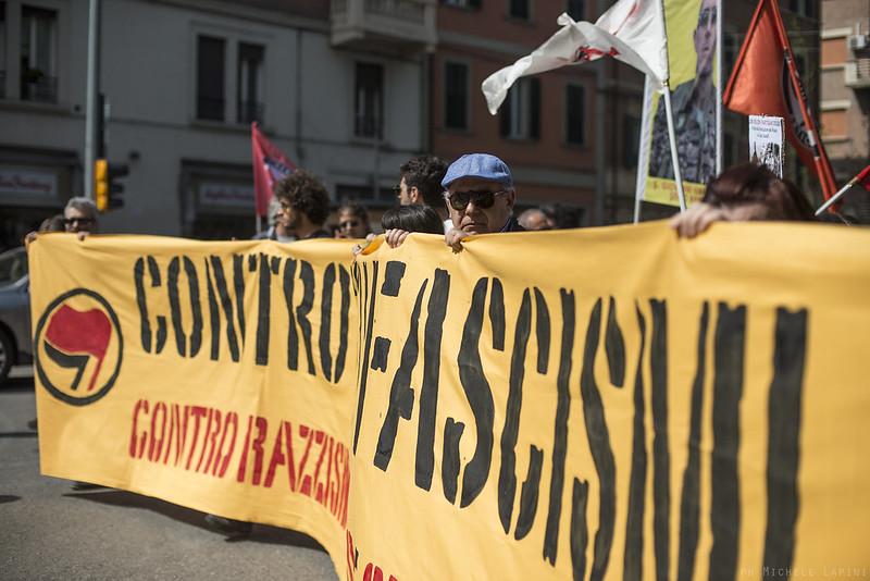Corteo antifascista 25 aprile 2019