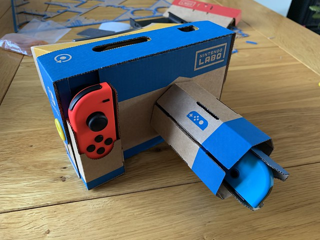 Nintendo Switch Labo VR camera.