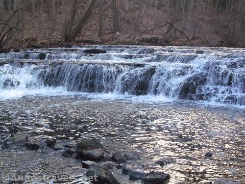 Part of Postcard Falls in Corbett's Glen, Penfield, New York
