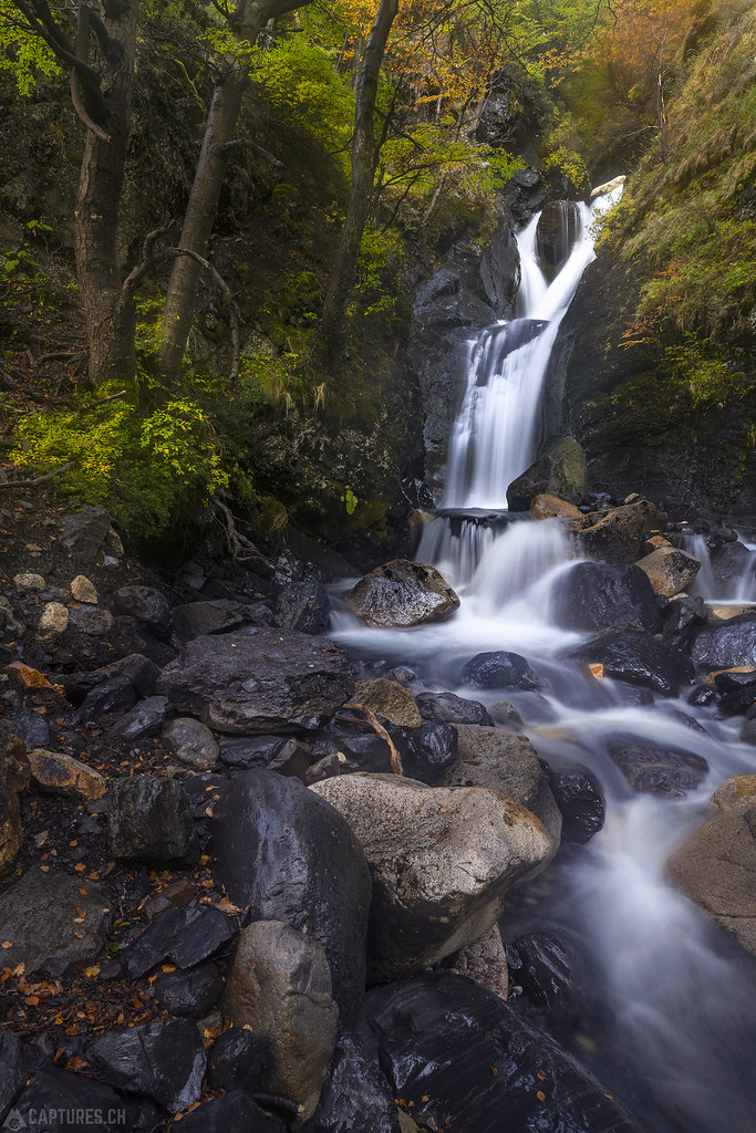 Small cascade - Torres del Paine