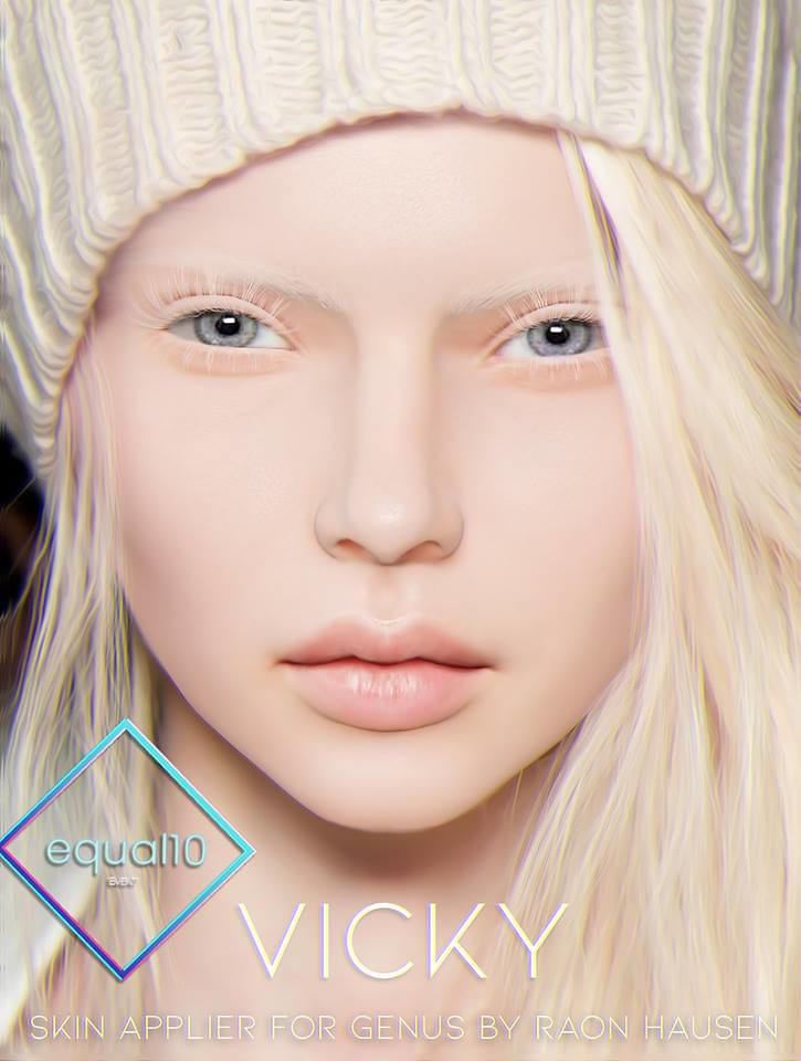 Raon Hausen - Vicky Lelutka Applier @ equal10 - TeleportHub.com Live!