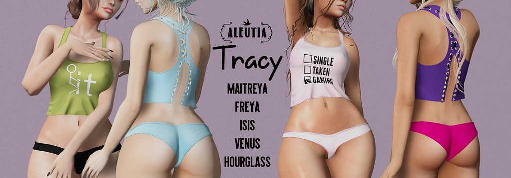 [Aleutia] Tracy Set for FaMESHed X!
