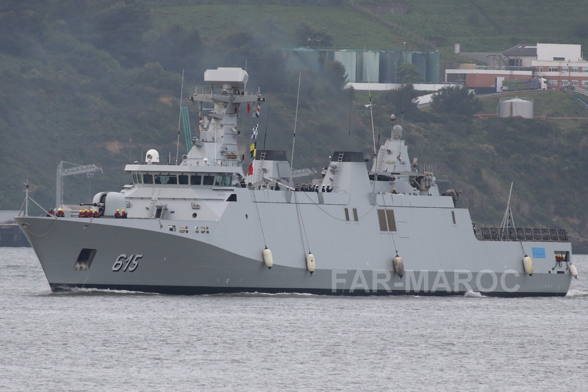 Royal Moroccan Navy Sigma class frigates / Frégates marocaines multimissions Sigma - Page 25 47644750931_a77cf6bae1_o