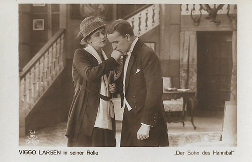 Viggo Larsen in Der Sohn des Hannibal (1918)
