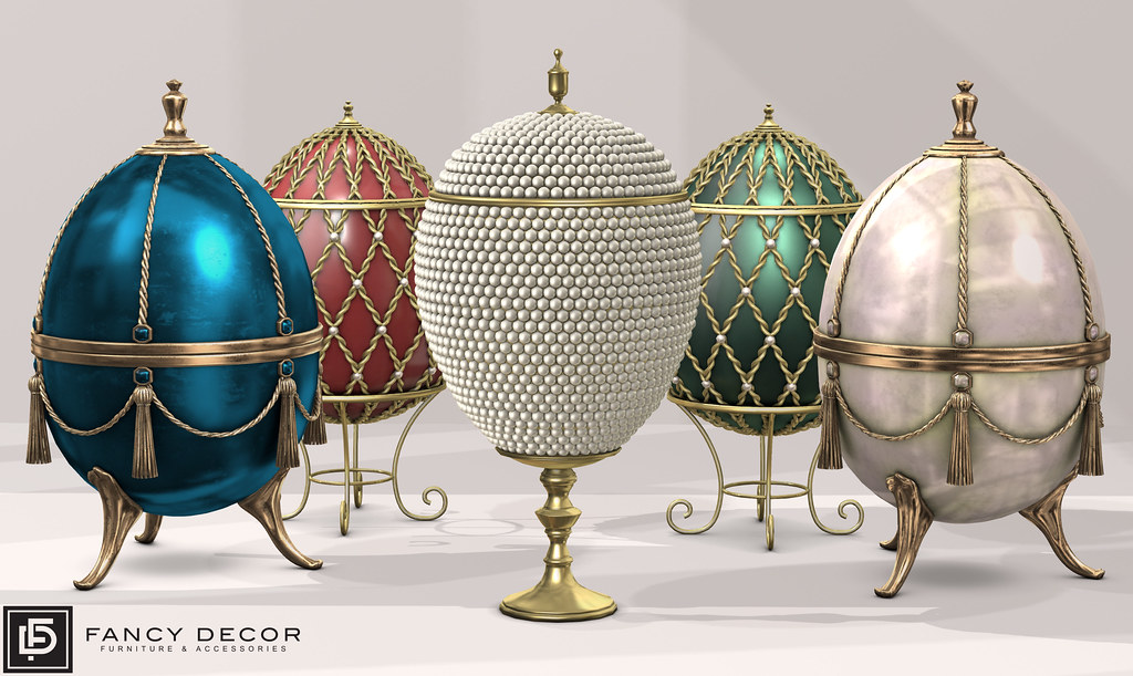 Opulent Eggs I & II