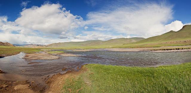 Mongolia panorama, driving to Altai Tavan Bogd national park, Mongolia (Explored 25 April 2019)