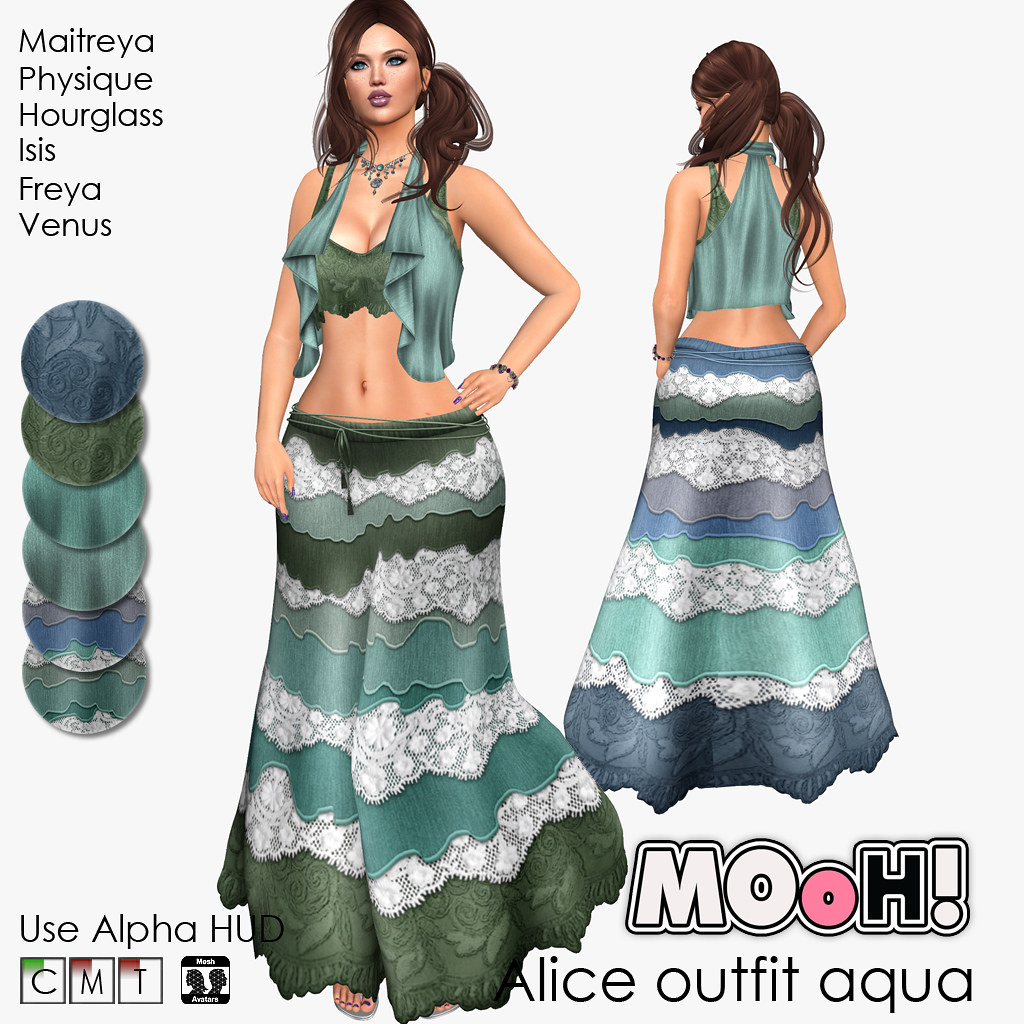 Alice outfit aqua