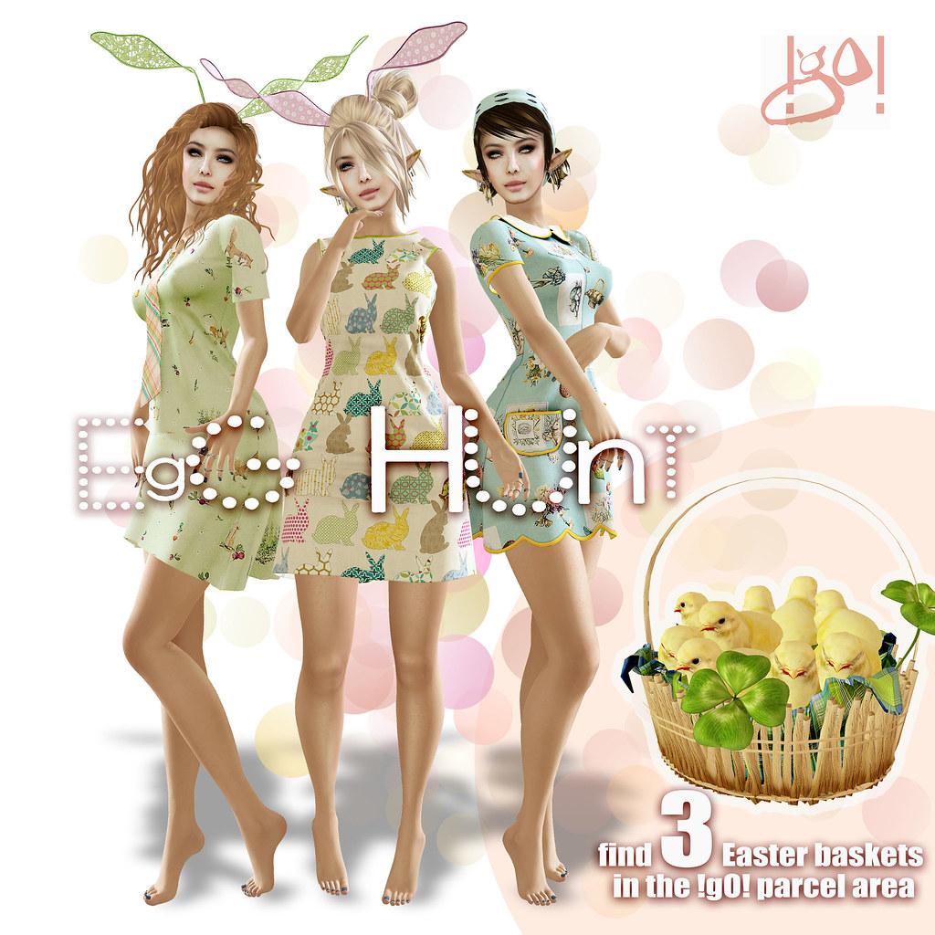 !gO! Egg hunt