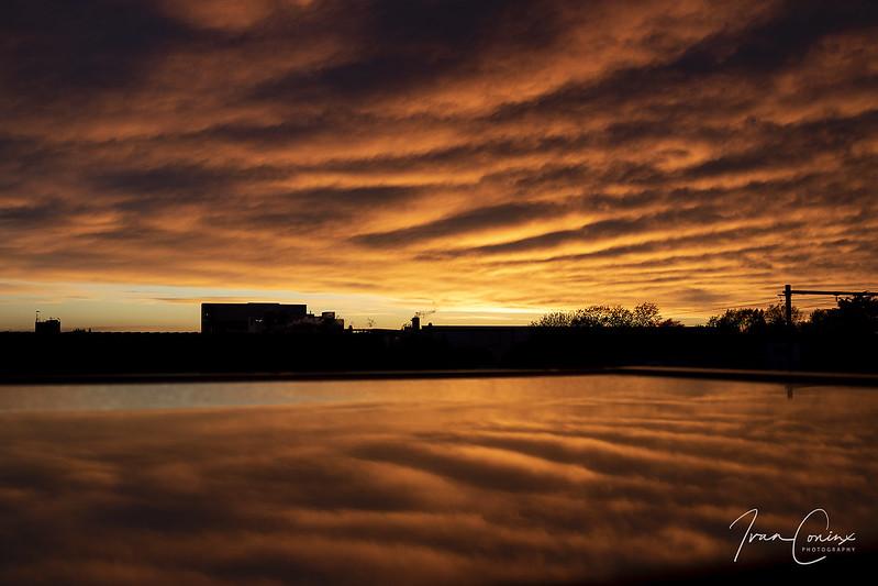 Sunset – Mechelen – 2019 04 25 – 01 – Copyright © 2019 Ivan Coninx