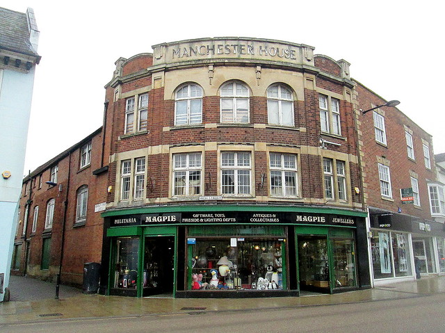 Another Deco Style Building, Evesham