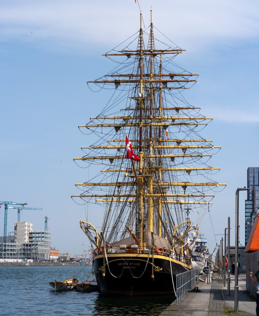 TALL SHIP GEORG STAGE - FROM DENMARK 003
