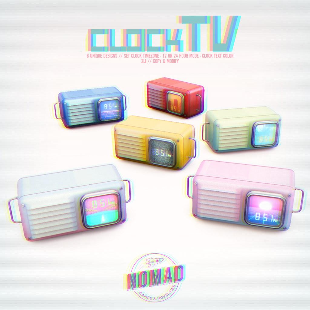 NOMAD // TV Clock