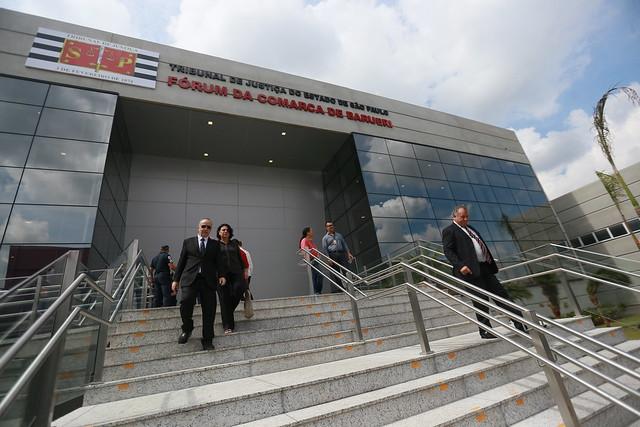 25.04.2019 - Solenidade de Instalação do novo Fórum de Barueri
