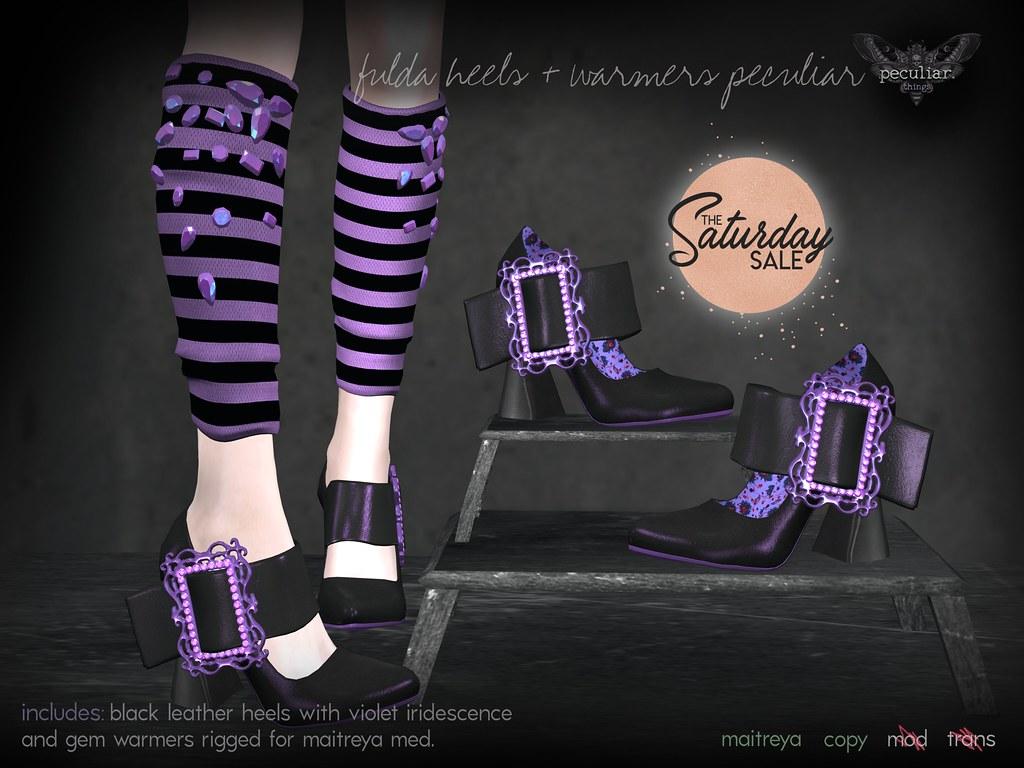 PROMO fulda heels + warmers peculiar