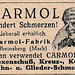 1927 ad for Carmol pain reliever