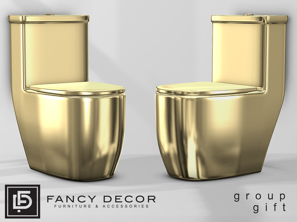 Gold Toilet – Group Gift