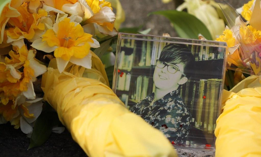 遭槍殺的年輕記者麥基。(圖片來源:Brian Lawless/PA)