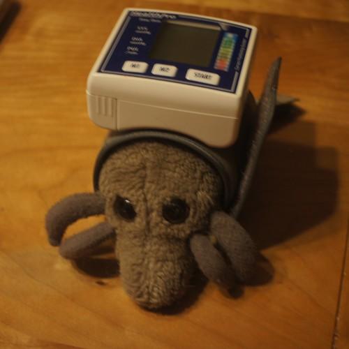 Blood pressure mite