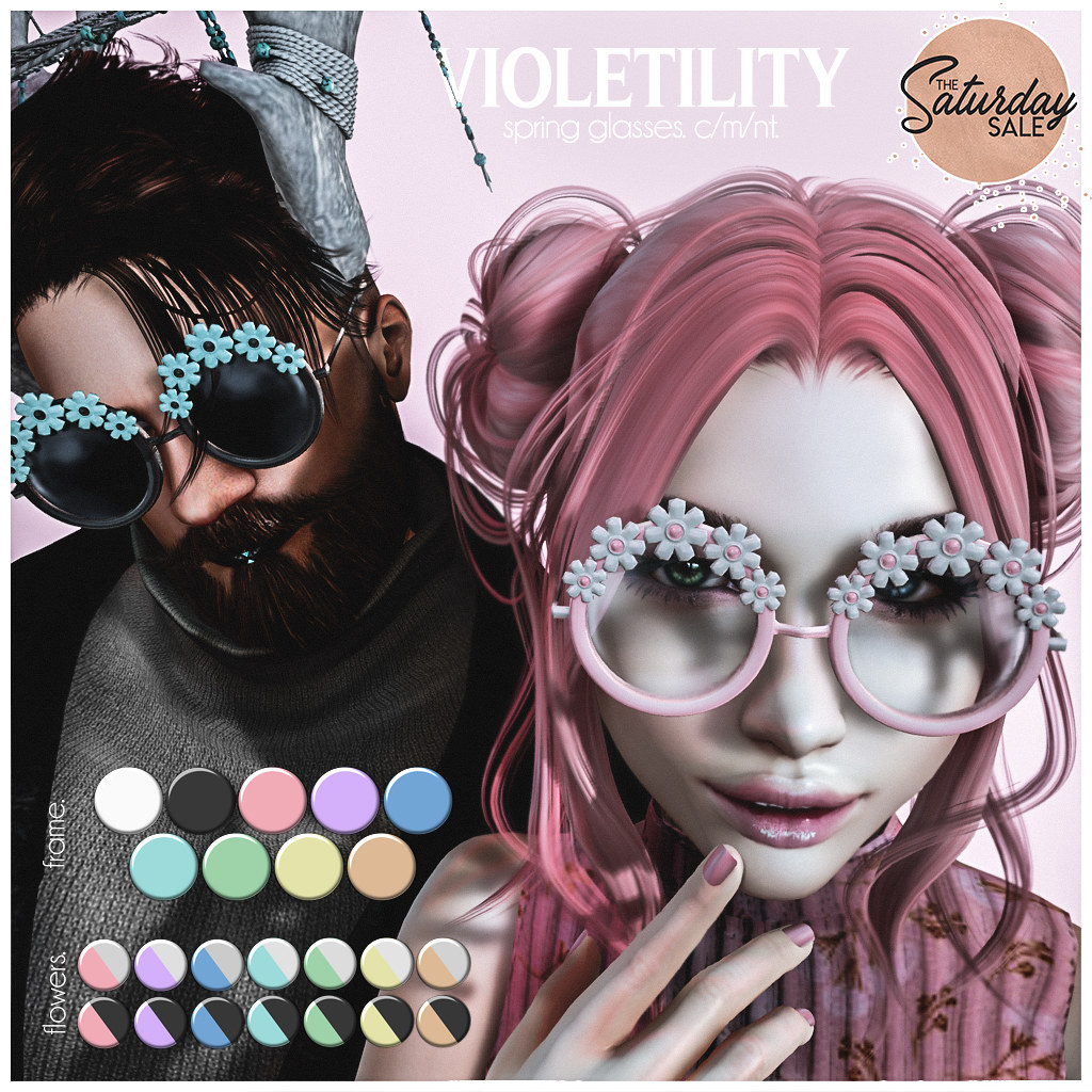 Violetility – Spring Glasses