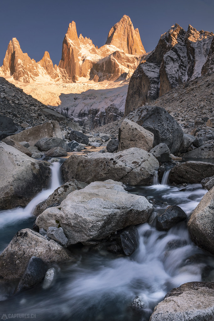 Cascade and the Fitz Roy - El Chalten