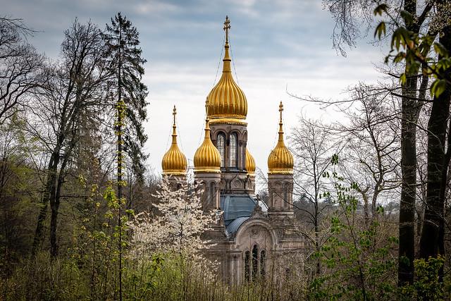 Russisch- Orthodoxe Kirche auf dem Neroberg