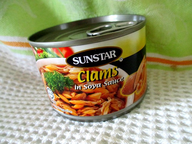 Sunstar clams in soy sauce