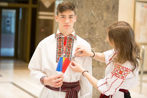 26.04.19 Vizită la Parlament în ajunul Zilei Drapelului de Stat al Republicii Moldova