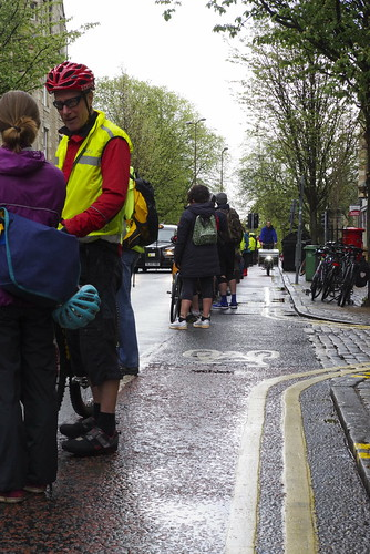 Forrest Road Protected cycle lane Pedal on Parliament pop up POP. | by Sandy Beach Cat
