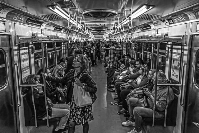 The subway trip