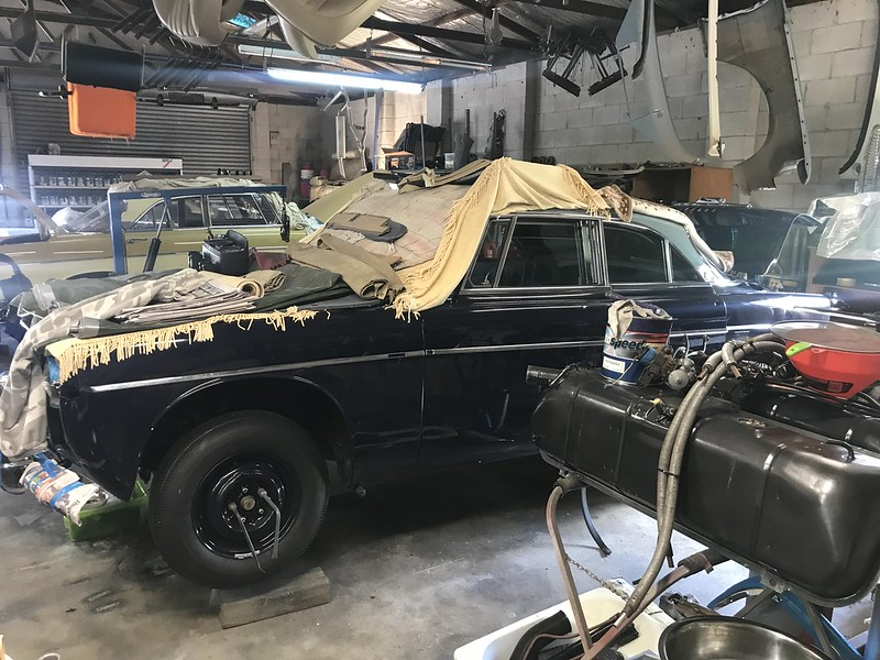 Rover P5 Coupe restoration