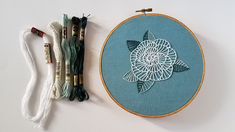 Beginner Rose pattern by Lolli and Grace