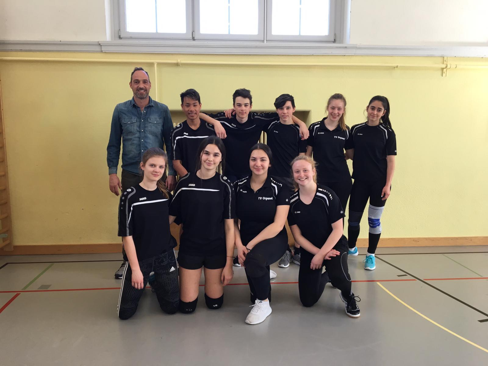 Kantonale Schulmeisterschaften Volleyball