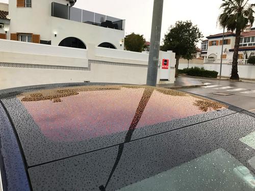 Techo solar Tesla Model 3 con Efecto Oxidado