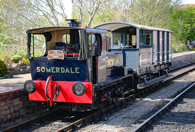 7492 Sentinel Shunter, Avon Valley Railway, Bitton, Gloucestershire