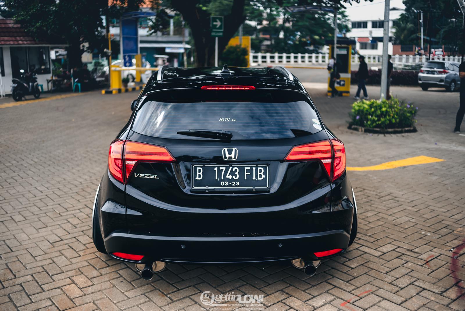 Bagged Honda HRV Vezel