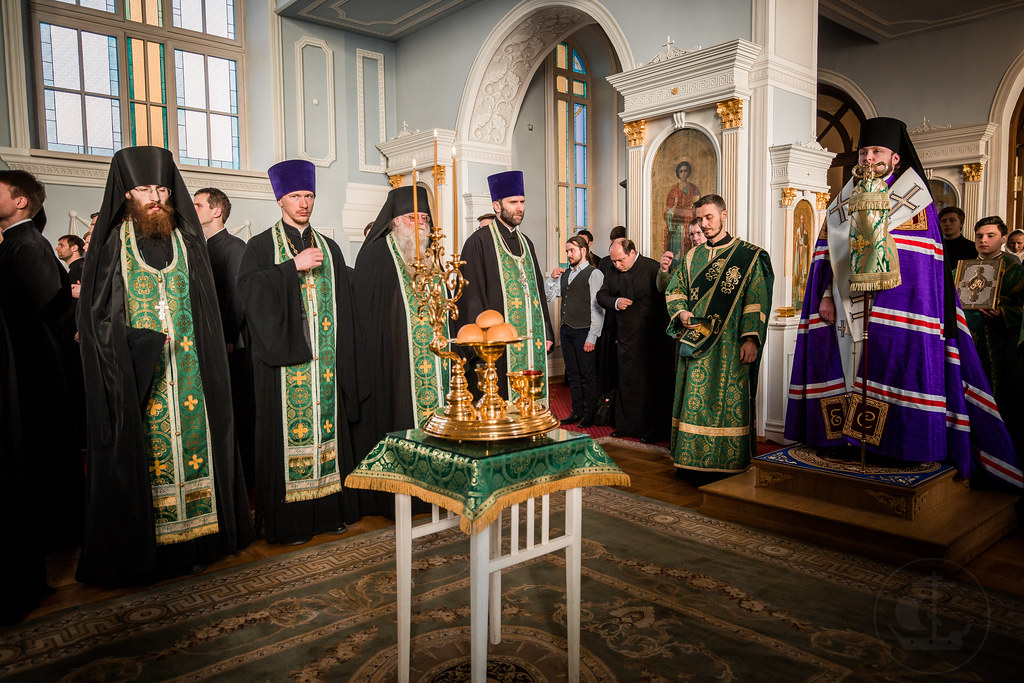 20 апреля 2019, Всенощное бдение накануне Вербного воскресенья / 20 April 2019, Vigil on the eve of the Palm Sunday