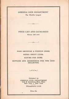 Gimbels Catalog