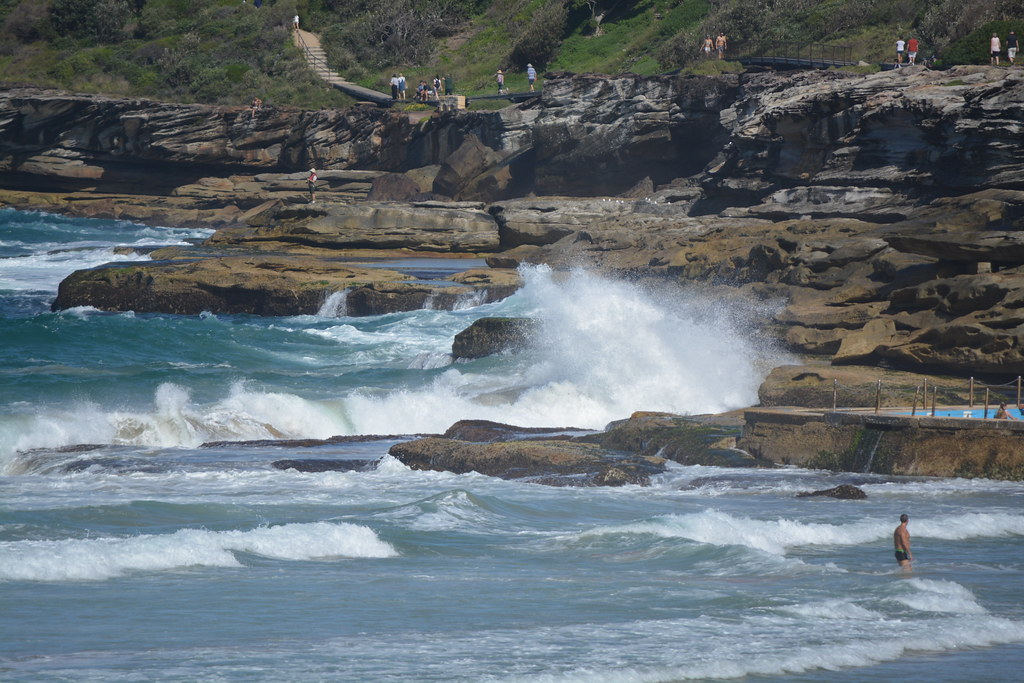 Surf at Freshwater, NSW